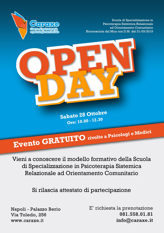OpenDay Caraxe 28-10